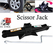 2 Ton Scissor Jack & Speed Handle Lift For Truck Car VAN Garage Home Emergency
