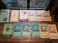 Vintage 1920-1950's Antique PRUDENTIAL INSURANCE Lot  Book Bank Receipt Book