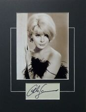 ELKE SOMMER SIGNED PHOTO AUTHENTIC AUTOGRAPH PLAYBOY SEX SYMBOL THE PRIZE *NICE*