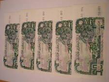 LOT 5 NOTES ALGERIA 50 DINARS 1977. PICK 130. UNC. 12vºt
