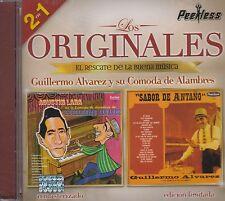 Guillermo Alvarez Y su Comoda de Alambres Los originales 2 en 1 CD new Nuevo