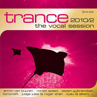 CD Trance The Vocal Session by Various Artists 2CDs