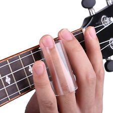 New Guitar String  Resin Slide Glass Finger Tube Clear Useful ZY