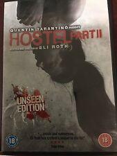 Hostel part 2 DVD - Quentin Tarantino