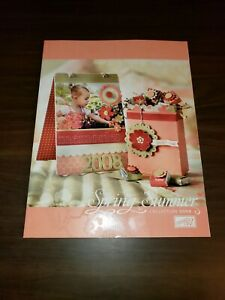 Spring - Summer 2008 Stampin Up Idea Book and Catalog