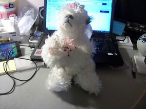 ANNETTE FUNICELLO COLLECTIBLE BEAR ANGEL BEAR WITH WINGS NO BOX 11 INCH