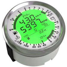 85mm 6in1 Multi-functional Car GPS Speedometer Tachometer Gauge Water Temp Meter