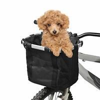 Docooler Bicycle Bike Detachable Cycle Front Canvas Basket Carrier Bag Pet