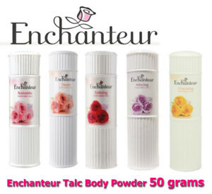 Enchanteur Perfumed Talc Fragrance Body Powder Freshness 50g