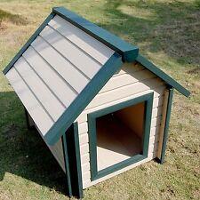 NEUE Hundehütte Hundehaus, rezykliertes Material ECOFLEX,beste Qualität EH103XL