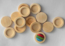 Antiqued Wooden Jewellery Making Beads