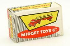MIDGET TOYS & CO LES ROULIERS BOITE VIDE POUR CAMION FARDIER #2 ONLY BOX