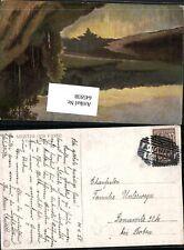 645938,Stempel Andritz bei Graz nach Donawitz bei Leoben 1925 Fluss Ufer