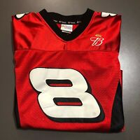 Womens Dale Earnhardt Jr Nascar Jersey #8 Chase Authentic Football Jersey Size M