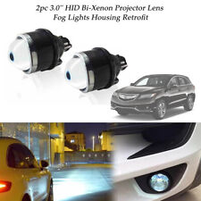 2pc 3'' Bi-xenon HID Headlight/Fog Lights Housing Projector Lens Kit Hi/Low Beam