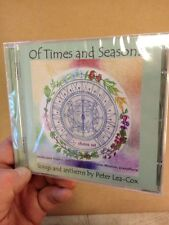 Of Times And Seasons:Songs By Peter Lea-Cox CD Moston/Rogers New+Sealed 2013