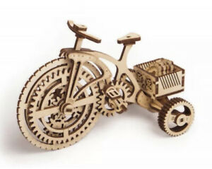 Woodtrick Mechanical 3D Wooden Adults Bicycle  Puzzle Interior Collection
