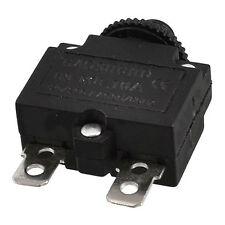 AC 125/250V 10A Circuit Breaker Thermal Overload Protector Black B4M7