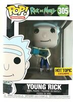 funko pop Animation #305 Rick and Morty Young Rick Vinyl Figure Exclusive