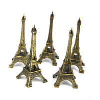 5pcs Mini Eiffel Tower Model Alloy Metal Craft Architecture Figurine Miniature