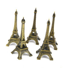 5pcs Mini Tour Eiffel Modèle Alliage Metal Craft Architecture Figurine Miniature