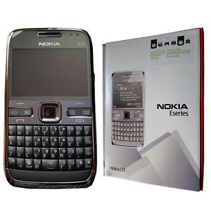 BNIB Nokia E72-1 250MB QWERTY Metal Grey Factory Unlocked Collectors Item 3G GSM