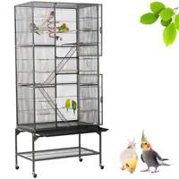 69'' Extra Large 3 Levels Ferret Chinchilla Sugar Glider Small Animal Cage
