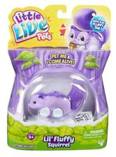 Little Live Pets Lil' Fluffy Tail Friends Squirrel Electronic Pet Toy Brand New