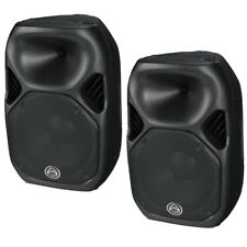 Wharfedale Pro Titan AX 12 Active Black Pair Speakers Amplified Speakers 600w