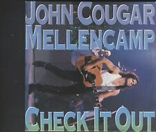 John Cougar Mellencamp - Check It Out CD card sleeve type