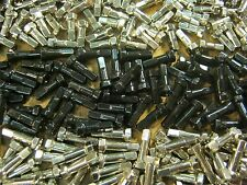 BRASS NIPPLES 12 Gauge 2.6mm WM CN Silver /& Black 13 /&16mm *Any Quantity* NEW