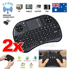 BACKLIGHT Mini Wireless Keyboard i8 2.4GHz with Touchpad for TV PC android SNU