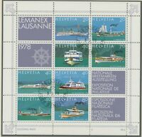 SCHWEIZ 1978 VFU Block Nationale Briefmarkenausstellung LEMANEX '78, Lausanne