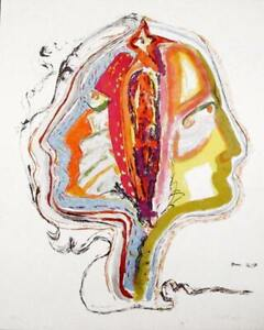 Vick Vibha, Duality, Lithograph, signed and numbered in pencil