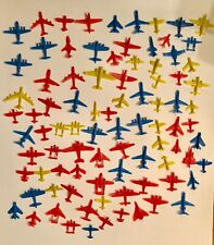 Vintage Dime Store Hard Plastic Toy Airplane Lot of 88 1950s-1960s Air Force
