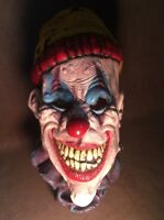 Creepy Killer Clown Halloween Party Scary Mask Costume Horror Overhead Mask