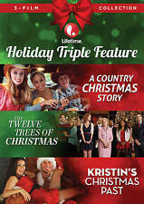 LIFETIME HOLIDAY TRIPLE FEATURE New DVD Country Christmas Twelve Trees