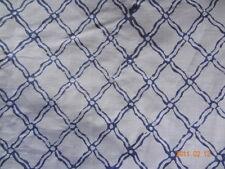 5 Yards Geometric Print Hand Block Printed Cotton Fabric Sanganeri Vintage KHNDJ