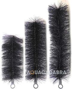 "Genuine 6"" Black Knight Filter Brushes Clear Pond Kockney Koi Green Genie Media"