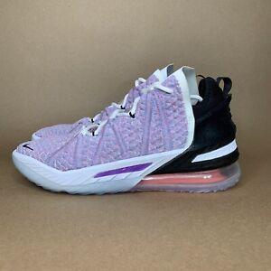 NEW Nike LeBron 18 XVIII Chlorine Blue/Black CQ9283-900 Multi-color DS Size 8