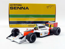 Minichamps McLaren MP4/5 1989 A. Senna #1 in 1/18 Scale New Release!
