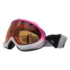 Oakley 02-741 Wisdom Fade Pink to White Frame Persimmon Lens Snow Ski Goggles .