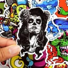 50pcs Skateboard Vinyl Sticker Skate Graffiti Laptop Luggage Car Bomb Decal Lot