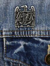 Slayer Badge Alchemy Rocks Eagle Pewter Pin 3x3.5cm
