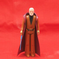 Vintage Star Wars Obi Wan Kenobi Ben w/ Double Telescoping Lightsaber Weapon