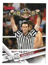 JOHN CONE 2017 Topps WWE Base 5x7 Jumbo #01/49 1st Made #20 RAW REFEREE