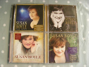 Susan Boyle 4 x CDs The Gift, Home For Christmas, Someone To Watch Over Me + 1