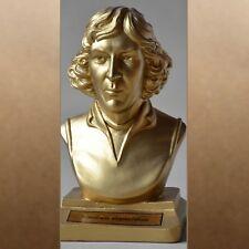Nikolaus Kopernikus metal gold 20cm büste bust busto popiersie бюст