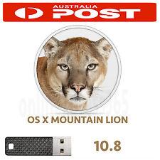Mac OSX Mountain Lion 10.8 OS X Install Recovery USB MacPro MacBook Air iMac PRO