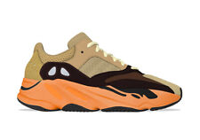 New Deadstock Men's Adidas Yeezy 700 Enflame Amber 8 UK 8.5 US in Hand DSWT